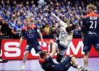 Mājiniece Norvēģija izcīna trešo uzvaru, zviedri sasniedz nākamo kārtu