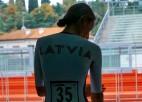 Rožlapa izcīna 29. vietu pasaules čempionātā individuālajā braucienā
