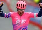"""Liepiņam 142. vieta, """"Vuelta"""" septītajā posmā uzvar kanādietis Vudss"""