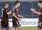 Latvija iesit dažādos veidos un beidzot izcīna uzvaru
