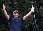 "Video: Spānijas golfera Rama neticamais sitiens pirms ""Masters"" turnīra"