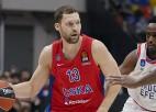 Strēlniekam septiņi punkti CSKA 23. uzvarā, ''Real'' nodrošina dalību <i>play-off</i>
