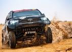"""Lietuvietis Vanags ar iespaidīgu ātrumu Dakaras posmā finišē """"Top 10"""""""