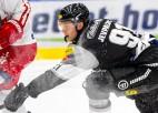 Jevpalovam 1+1, Krastenbergam 0+2 Austrijā, rezultatīvi vēl četri Latvijas hokejisti