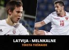 Teksta tiešraide: Latvija - Melnkalne 1:2 (spēle galā)