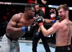 Nganū otrajā raundā nokautē Miočiču un izcīna UFC smagsvaru titulu