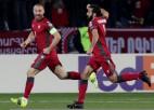 Treimanis piespriež sarkano, Armēnija fantastiski atspēlējas un izcīna trešo uzvaru pēc kārtas