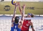 Samoilovs un Šmēdiņš turnīru vējainajā Kankunā sāk ar zaudējumu