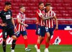 """""""Atletico"""" atgūst pārliecību un <i>iznīcina</i> """"Eibar"""", """"Sevilla"""" pietuvojas līderēm"""
