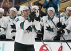 """Balceram divi noraidījumi, Marlo NHL rekords, """"Sharks"""" zaudē bullīšos"""