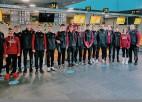 Latvijas U-17 volejbola izlase devusies uz EČ kvalifikāciju Horvātijā