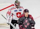 Vēlreiz pret Šveici – ģenerālmēģinājums Olimpiskajā sporta centrā