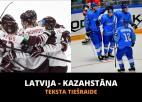 Latvija - Kazahstāna 2:3 (spēle galā)