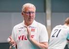 Latvija arī otrajā pārbaudes spēlē pret čehiem zaudē četros setos
