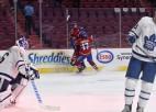 """""""Canadiens"""" uzvar pagarinājumā un sērijā pret Toronto panāk septīto spēli"""