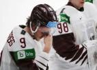 """Krastenbergs: """"Katru spēli gājām un cīnījāmies. Izlikām visu uz ledus"""""""