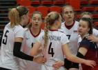 Latvijas sieviešu izlase debiju Sudraba līgā pabeidz ar 1:3 pret Igauniju