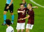 """Saveļjevs: """"Rezultātu pret Vāciju vēlos aizmirst, bet vārti paliks atmiņā uz mūžu"""""""