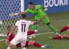 """Video: """"Euro 2020"""" atklāšanas spēlē turka sitiens savos vārtos sekmē Itālijas uzvaru"""