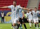 Mesi piespēlē Argentīnas pirmajā uzvarā, Čīle ar grūtībām pieveic Bolīviju