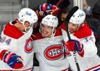 """""""Canadiens"""" pārspēj """"Golden Knights"""", nonākot uzvaras attālumā no fināla"""