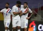 """Paragvaja pārsteidz Čīli, Urugvaja nodrošina vietu """"Copa America"""" 1/4 finālā"""