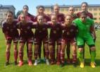 Sieviešu U19 izlase Baltijas kausu sāk ar bezvārtu neizšķirtu pret Lietuvu