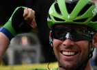 """Kavendišam karjeras 33. uzvara """"Tour de France"""" posmā, Skujiņš ārpus simtnieka"""