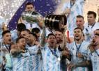 Di Marijas vārti ļauj Argentīnai pēc 28 gadu pārtraukuma triumfēt <i>Copa América</i>