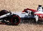 """""""Alfa Romeo"""" komanda Raikonena vietā nākamgad grib redzēt Botasu"""