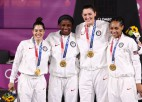Medaļu kopvērtējums (5. diena): WNBA profesionāles un latvieši triumfē 3x3 debijā