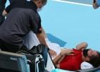 """Medvedevs vaicā tiesnesim: """"Ja es nomiršu, ITF uzņemsies atbildību?"""""""