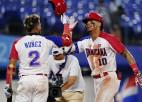 Dominikānas beisbolisti izglābjas un galotnē no turnīra izslēdz Izraēlu