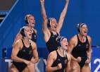 Ūdenspolo sieviešu finālā ASV lūkos aizstāvēt olimpisko čempioņu godu