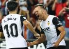 """Spānijas sezona sākas ar diviem noraidījumiem un """"Valencia"""" uzvaras vārtiem mazākumā"""
