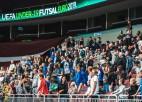 U-19 telpu futbolistiem pretiniekos ielozē Horvātiju, Baltkrieviju un Azerbaidžānu