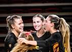 Latvijas labākā volejboliste Levinska ar divām uzvarām sāk otro sezonu NCAA