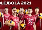 Video: Latvijas volejbolisti briest EČ finālturnīra atklāšanas mačam