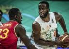 """FIBA """"AfroBasket"""" 1/4 fināls: Kotdivuārai +48, Senegāla <i>izslēdz</i> Angolu"""