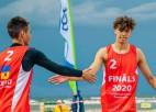 Fokerots/Auziņš uzvar un iekļūst U18 Eiropas čempionāta pusfinālā
