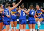 Eiropas čempionātā sievietēm trešo reizi vēsturē triumfē Itālijas volejbolistes