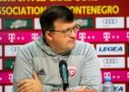 """Kazakevičs: """"Uzvarēt varēja abas izlases, kopumā spēli vērtēju pozitīvi"""""""