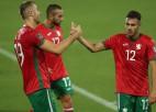 Bulgārija pārbaudes spēlē sagrauj Gruziju, Čehija izglābjas pret Ukrainu