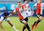 """Konferences līgu atklāj """"Feyenoord"""" neizšķirts un Telavivas četri vārtu guvumi"""