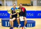 Noskaidroti Latvijas čempioni galda tenisā, neiztiekot bez pārsteigumiem