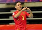 Spānijas telpu futbolisti atspēlējas pret Japānu, astotdaļfinālā arī Irāna un Argentīna