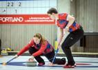 Tallinā mūsu jauktajiem pāriem pa vienai uzvarai, nepārspēti paliek vienīgi čehi