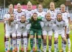 """Latvijas futbolistes viesosies pie """"Euro 2022"""" dalībnieces Ziemeļīrijas"""