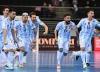 Argentīna <i>pendelēs</i> izslēdz krievus, nokārtojot Dienvidamerikas klasiku