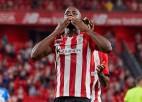 """<i>Dzelzs vīrs</i> Viljamss Bilbao """"Athletic"""" uzvarā uzstāda jaunu """"La Liga"""" rekordu"""